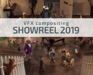 VFX Compositing Showreel 2019